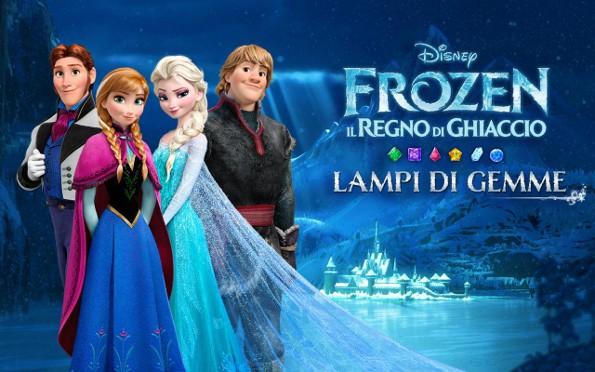 Frozen lampi di gemme l ultimo cartone animato disney