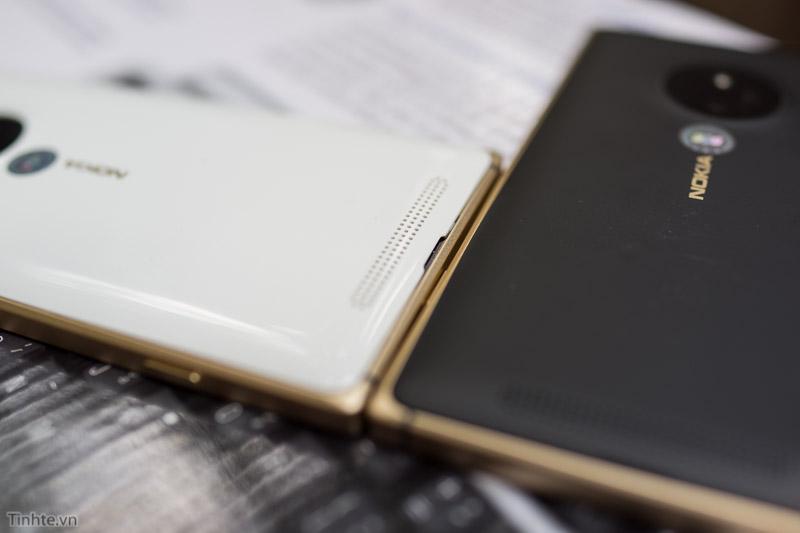 Задняя крышка Lumia 830 Gold Edition